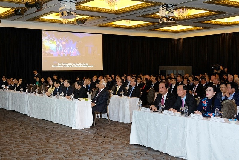 Đông đảo doanh nghiệp Việt Nam, New Zealand tham dự diễn đàn. Ảnh: VGP/Quang Hiếu