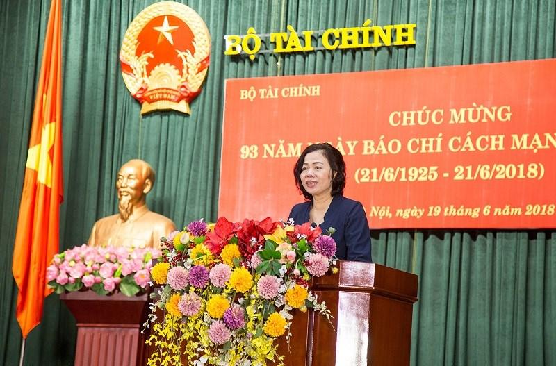 Thứ trưởng Vũ Thị Mai gửi lời chúc mừng đến đội ngũ báo chí, tuyên truyền, xuất bản ngành Tài chính.