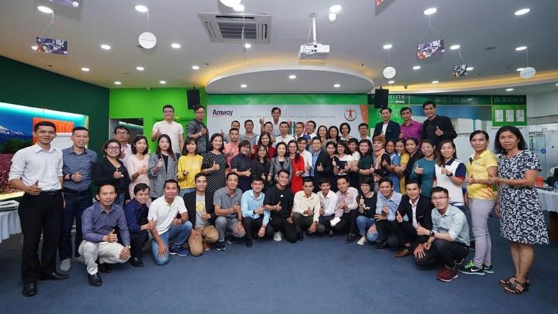 Amway đồng hành cùng Viện dinh dưỡng Quốc gia trong chương trình đào tạo kiến thức dinh dưỡng