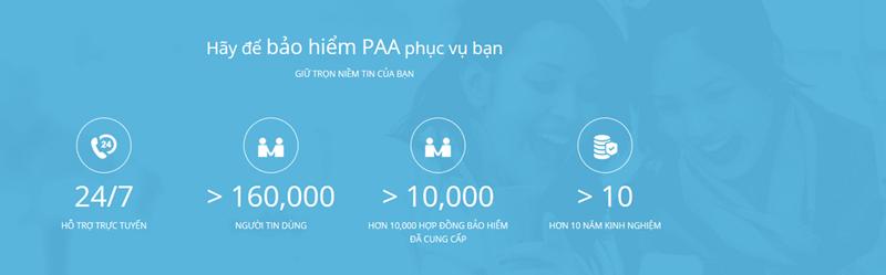 Với 10 năm kinh nghiệm, paa.vn đã được hơn 160 nghìn người tin dùng