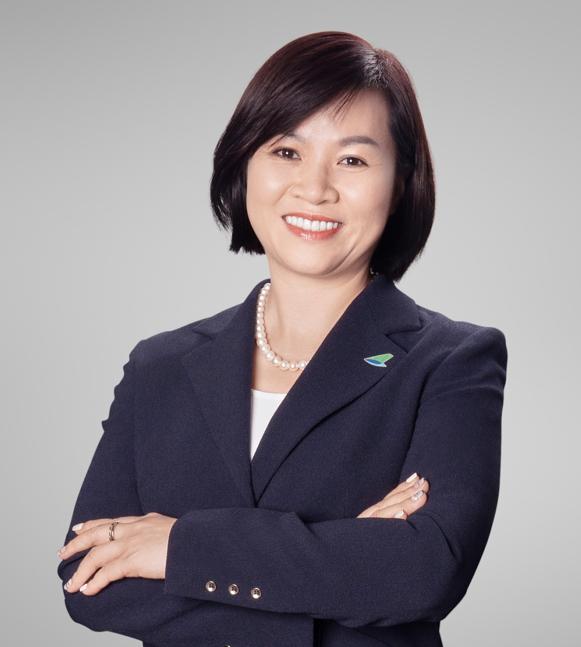 Bà Dương Thị Mai Hoa, Phó chủ tịch Bamboo Airways.