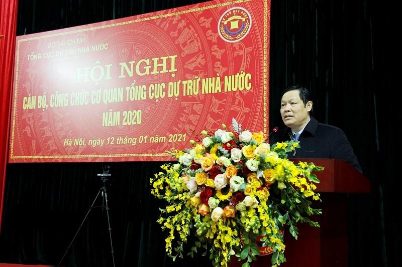 Tổng cục trưởng Tổng cục DTNN Đỗ Việt Đức đã trả lời thỏa đáng các kiến nghị của cán bộ, công chức cơ quan Tổng cục DTNN tại hội nghị.