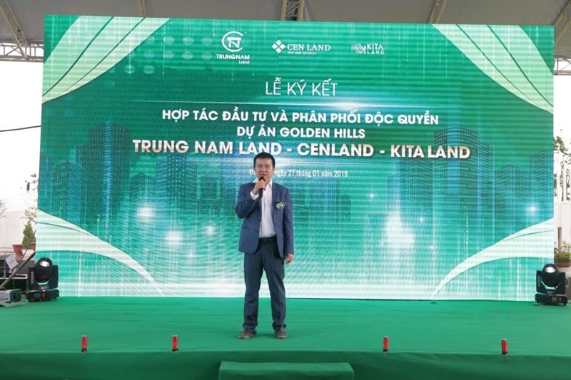 Ông Nguyễn Tâm Thịnh, Chủ tịch HĐQT Trung Nam Land chia sẻ lý do lựa chọn hợp tác cùng CenLand và Kita Land.