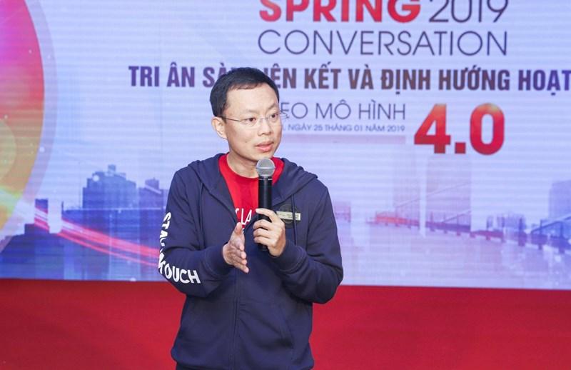 Ông Phan Văn Hưng – Giám đốc Công nghệ Tập đoàn CenGroup chia sẻ về các tính năng công nghệ tại cenhomes.vn.