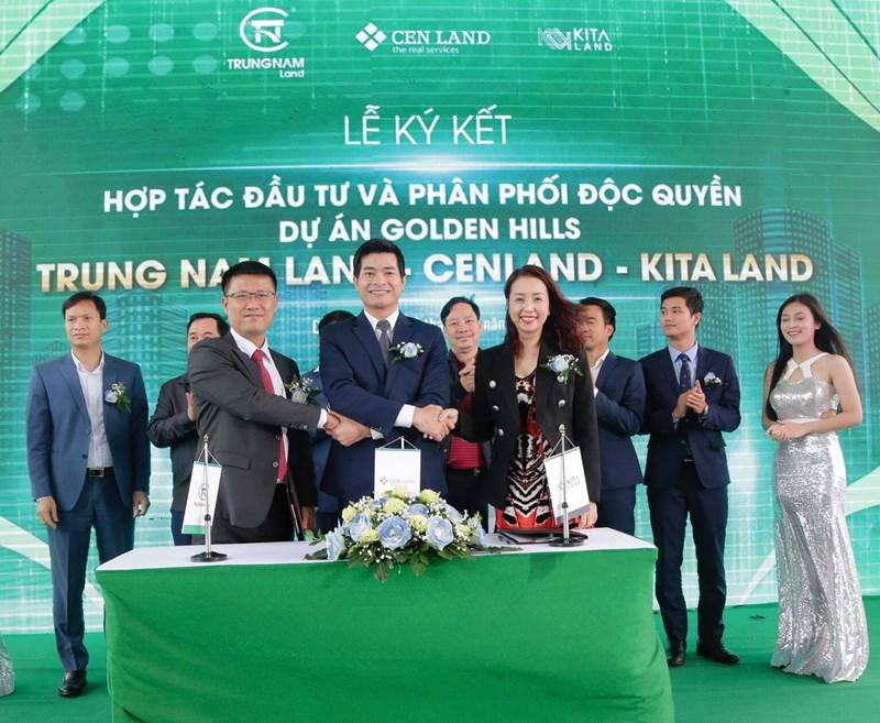 Trung Nam Land – CenLand – Kita Land chính thức trở thành đối tác chiến lược tại dự án Golden Hills Đà Nẵng.