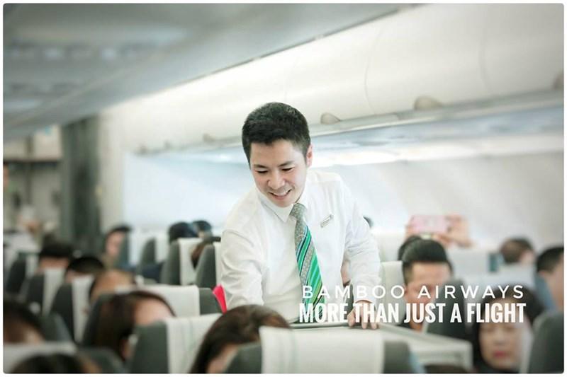 Bamboo Airways – Hãng hàng không của sự hiếu khách.