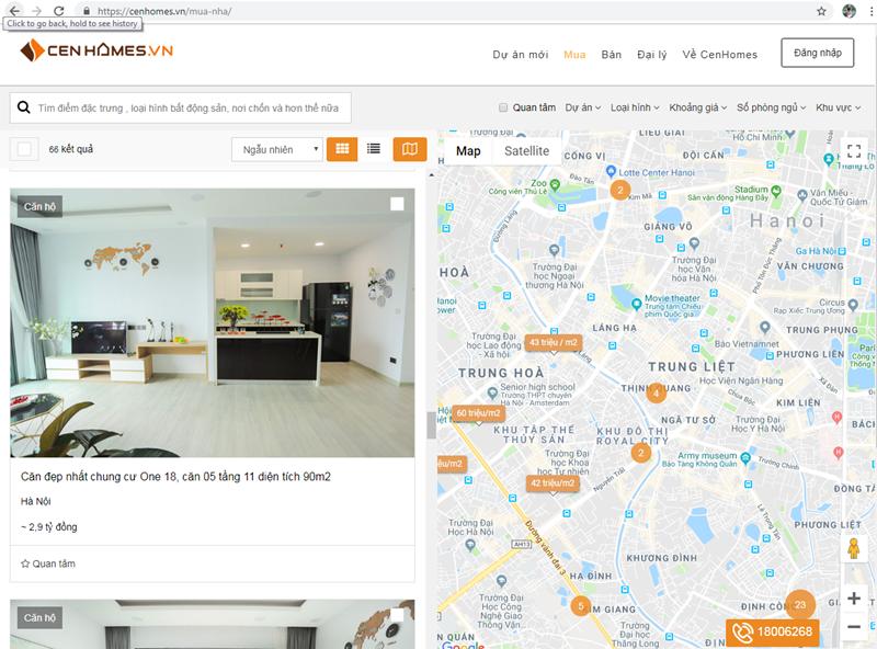 Chủ nhà dễ dàng bán/ cho thuê căn hộ của mình thông qua cenhomes.vn.