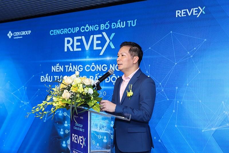 Ông Phạm Thanh Hưng – Phó Chủ tịch HĐQT CenGroup chia sẻ về lý do đầu tư cũng như định hướng hợp tác của CenGroup vào Revex trong thời gian tới.