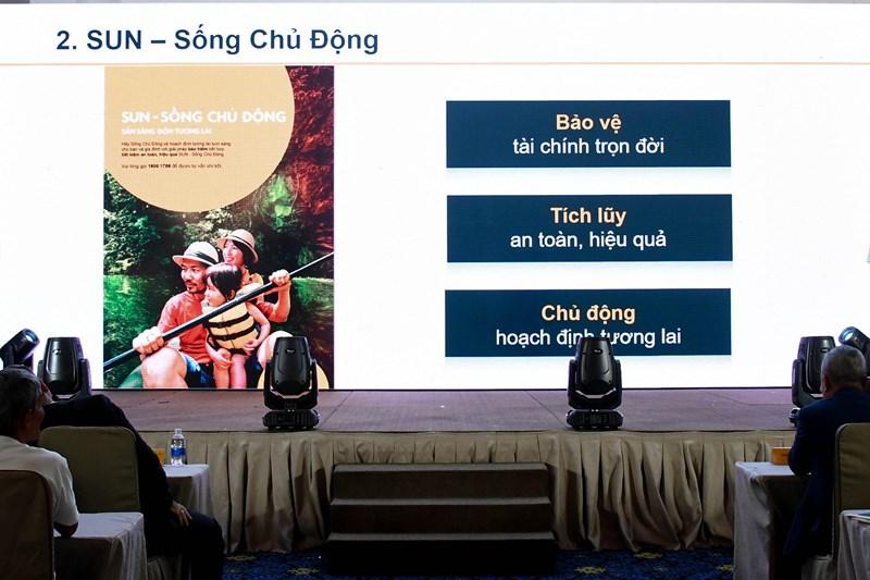 """Sun Life Việt Nam vừa ra mắt sản phẩmbảo hiểm liên kết chung """"SUN – Sống chủ động"""" với nhiều quyền lợi hấp dẫn cho khách hàng."""