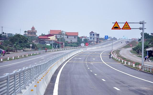 Tuyến đường bộ nối đường cao tốc Hà Nội - Hải Phòng với đường cao tốc Cầu Giẽ - Ninh Bình.
