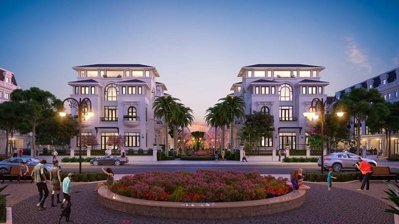 Khu đô thị Louis City Hoàng Mai được xây dựng trên tổng diện tích 22,3 ha giữa trung tâm quận Hoàng Mai.
