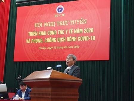 Phó Tổng Giám đốc BHXH Việt Nam Phạm Lương Sơn: BHXH Việt Nam sẵn sàng cùng với ngành Y tế và toàn xã hội phòng chống dịch Covid-19.
