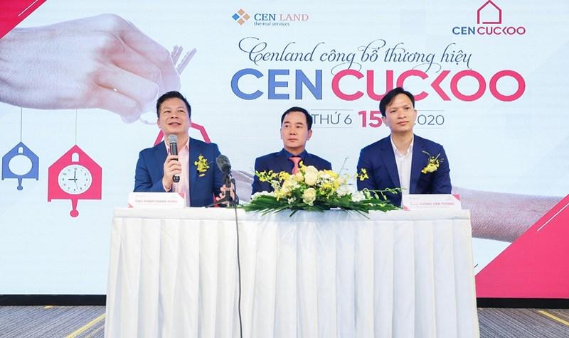 Đại điện CenGroup trả lời câu hỏi về việc ra mắt thương hiệu Cen Cuckoo.