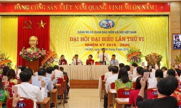 Ngày 23/4/2020, Đảng ủy cơ quan BHXH Việt Nam ban hành Kế hoạch số 132-KH/ĐU phát động thi đua lập thành tích chào mừng Đại hội Đảng bộ các cấp, Đại hội đại biểu Đảng bộ cơ quan BHXH Việt Nam lần thứ VII và tiến tới Đại hội đại biểu toàn quốc lần thứ XIII của Đảng