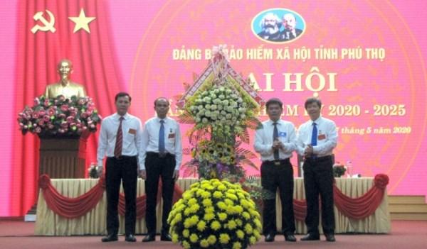 Ngày 17/5/2020, Đảng bộ Bảo hiểm Xã hội tỉnh Phú Thọ tổ chức thành công Đại hội lần thứ V, nhiệm kỳ 2020 - 2025 với sự tham gia của 130 đảng viên của 10 chi bộ trực thuộc Đảng bộ BHXH tỉnh