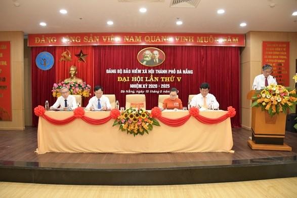 Đảng bộ BHXH TP. Đà Nẵng tổ chức thành công Đại hội lần thứ V, nhiệm kỳ 2020 – 2025 (ngày 15/5/2020)
