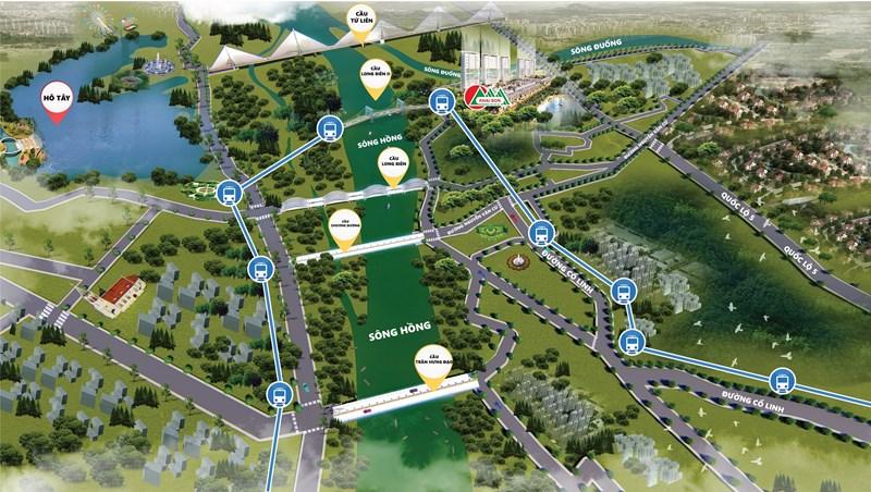 Khai Sơn Hill có tiềm năng tăng giá nhờ hạ tầng và quy hoạch đồng bộ.