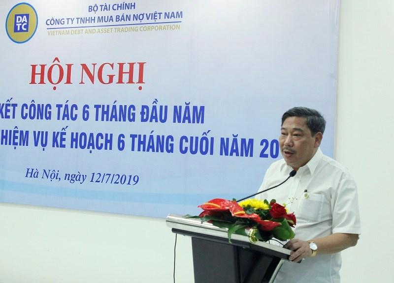 Ông Lê Hoàng Hải - Chủ tịch Hội đồng thành viên DATC phát biểu tại Hội nghị.