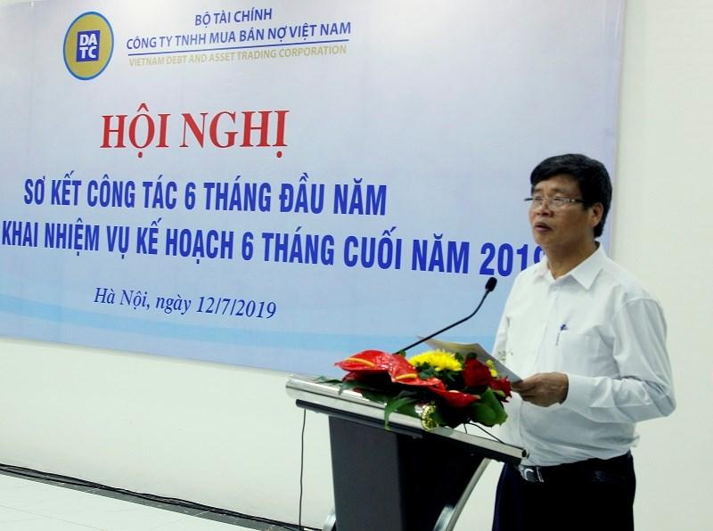 Ông Dương Thanh Hiền - Phó Tổng giám đốc DATC phát biểu tại Hội nghị.