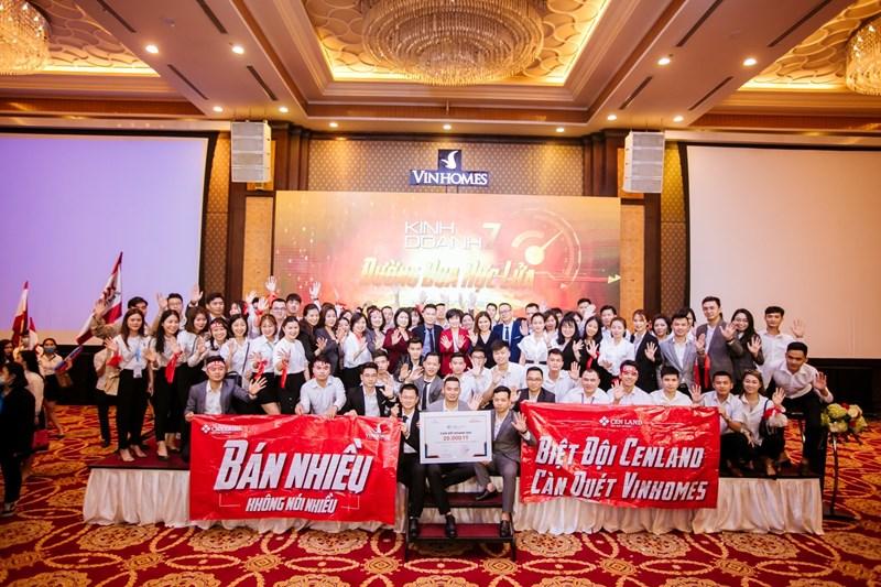 Cen Hà Nội liên tục lọt Top đầu Đại lý bán hàng xuất sắc nhất của Vinhomes.