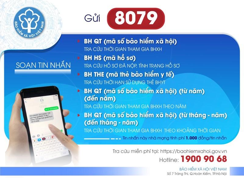 Khi triển khai soạn các tin nhắn theo cú pháp trên các cá nhân, đơn vị soạn tin nhắn tiếng Việt không dấu gửi 8079.
