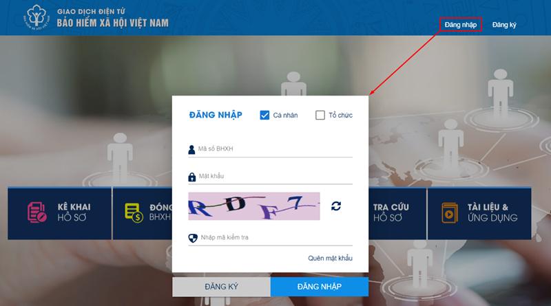 Hướng dẫn đăng ký online nhận lương hưu qua tài khoản ngân hàng cá nhân - Ảnh 1