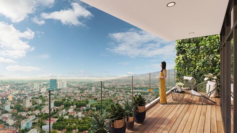 Các căn hộ tại C-Sky View đều sở hữu tầm nhìn hoàn hảo.
