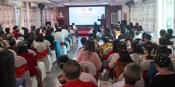 BHXH Việt Nam phối hợp với Trung ương Hội Chữ thập đỏ Việt Nam tổ chức Hội nghị tuyên truyền chính sách BHXH, BHYT cho hơn 200 đại biểu là hội viên Hội chữ thập đỏ xã, phường tại tỉnh Thái Nguyên