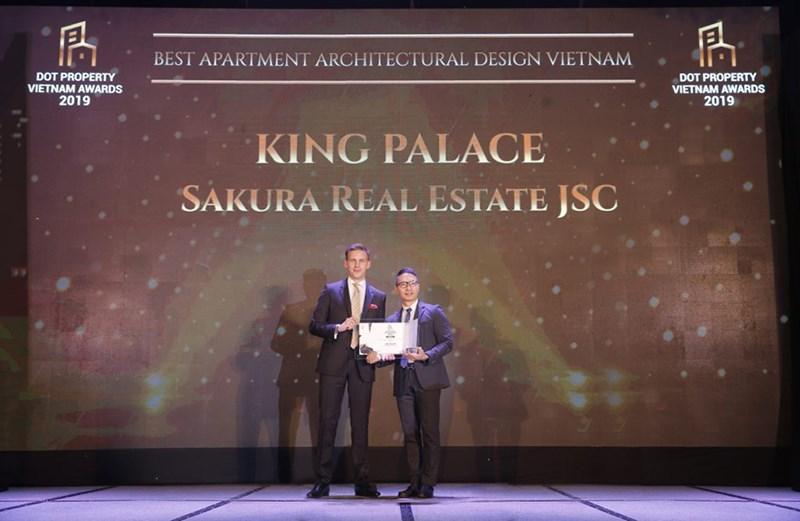 King Palace được vinh danh tại lễ trao giải Dot Property Awards 2019.