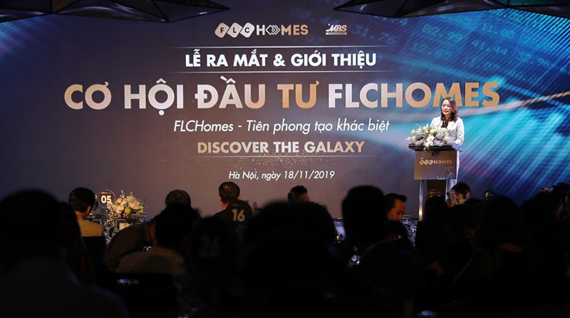 Bà Hương Trần Kiều Dung, Phó Chủ tịch, Tổng giám đốc Tập đoàn FLC kiêm Chủ tịch FLCHomes.