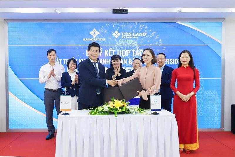 CenLand cũng đã ký kết hợp tác phát triển kinh doanh dự án Bách Đạt Riverside với Công ty TNHH SX & TM Bách Đạt.