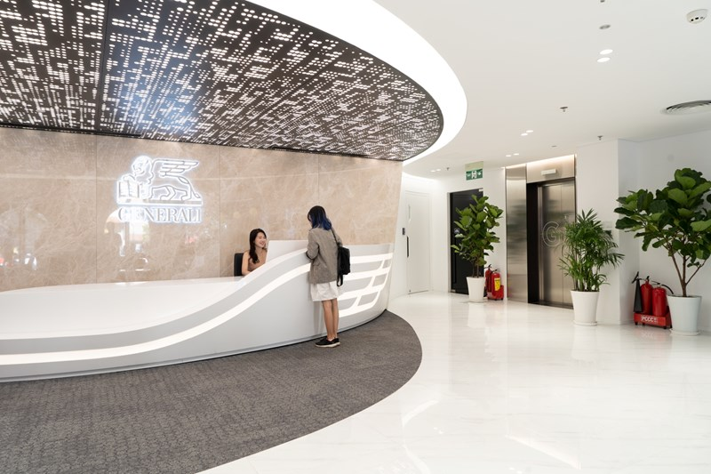 Với vị trí đắc địa cùng thiết kế trang nhã, Generali Plaza sẽ là một không gian phục vụ, chăm sóc khách hàng hiện đại, tinh tế.
