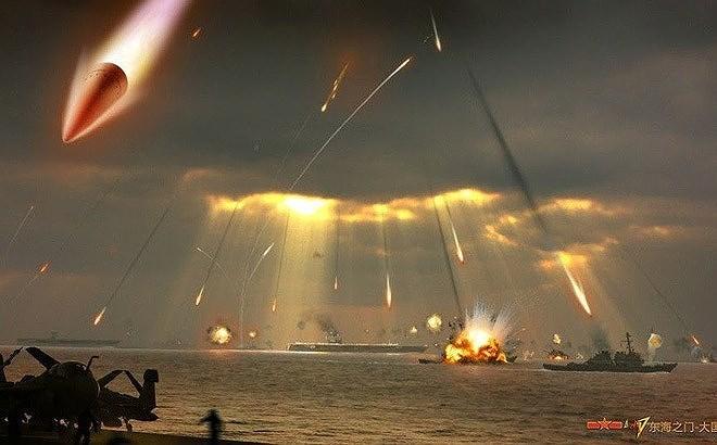 Nếu biên đội tàu sân bay Mỹ đi vào biển Đông hay biển Hoa Đông và nằm trong tầm bắn của các loại vũ khí Trung Quốc thì theo đánh giá chúng sẽ bị tiêu diệt một cách nhanh chóng.