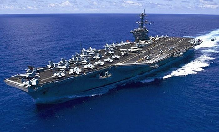Washington từng cho biết nếu kẻ địch tấn công và phá hủy tàu sân bay Mỹ sẽ là động thái tuyên chiến rõ ràng nhất và họ không ngại ngần sử dụng cả vũ khí hạt nhân để đáp trả.