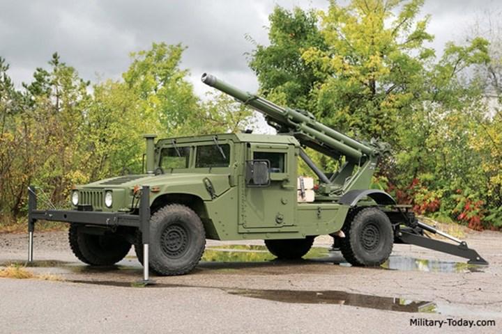 Pháo sử dụng hệ thống điều khiển hỏa lực kỹ thuật số, tất cả đều được máy tính xử lý nên không cần truyền lệnh bắn, xoay vòng, ngắm hướng hay dây liên lạc… Ảnh: Military-Today.