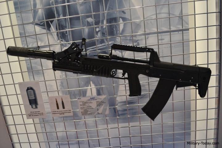 """Đây là loại súng sở hữu tính năng """"độc"""", giúp nó có khả năng bắn ở dưới nước và cả trên cạn với cùng cỡ đạn 5,45 x 39 mm. Ảnh: Military-Today."""