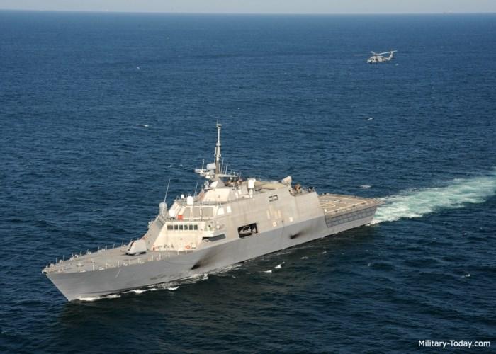 Điểm độc đáo của các tàu là không gian trống chiếm tới 40% diện tích, khi cần thiết sẽ nhanh chóng được bổ sung các module vũ khí phù hợp cho nhiệm vụ tác chiến chống ngầm, chống hạm hoặc phòng không. Ảnh: Military-Today.