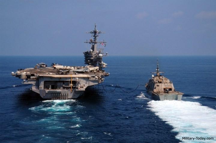 Tàu được trang bị hệ thống điện tử rất hiện đại bao gồm: radar tìm kiếm mục tiêu TRS-3D được thiết kế đặc biệt cho các hoạt động ở ven bờ. Ảnh: Military-Today.