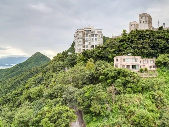 """Trong khi những người thu nhập thấp trả 500.000 USD để mua các căn hộ nano, căn hộ siêu nhỏ hay thậm chí sống trong """"nhà lồng sắt, nhà quan tài"""" thì giới siêu giàu chủ yếu cư ngụ trong biệt thự ngoại ô, nhất là khu The Peak, nơi cao nhất của Hong Kong."""