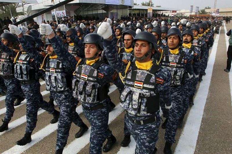 Cảnh sát quốc gia Iraq cùng Quân đội chính phủ là hai thành phần tạo ra lực lượng vũ trang của quốc gia Trung Đông nhiều dầu mỏ và đầy bất ổn này.