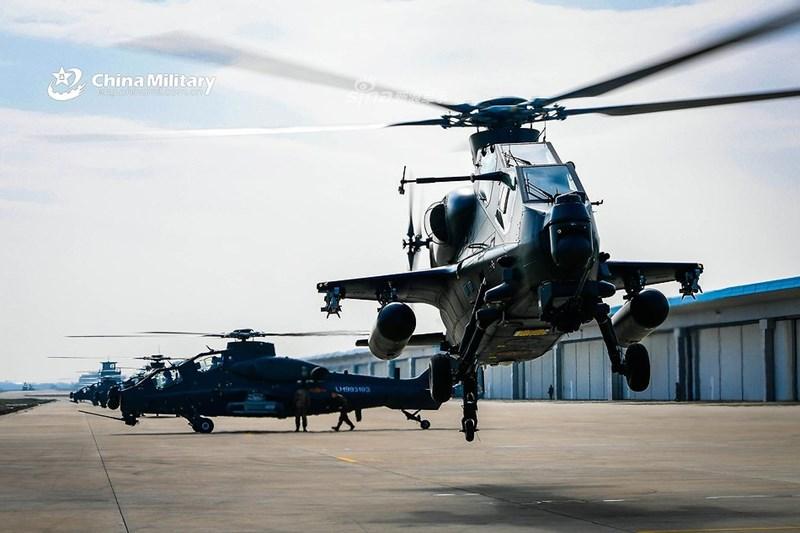 Theo biên chế chuẩn của Lục quân Trung Quốc thì mỗi lữ đoàn hàng không nằm trong đội hình tập đoàn quân sẽ được biên chế 70 - 110 trực thăng các loại (biên chế thiếu) hoặc lên tới 144 chiếc khi được trang bị đầy đủ.