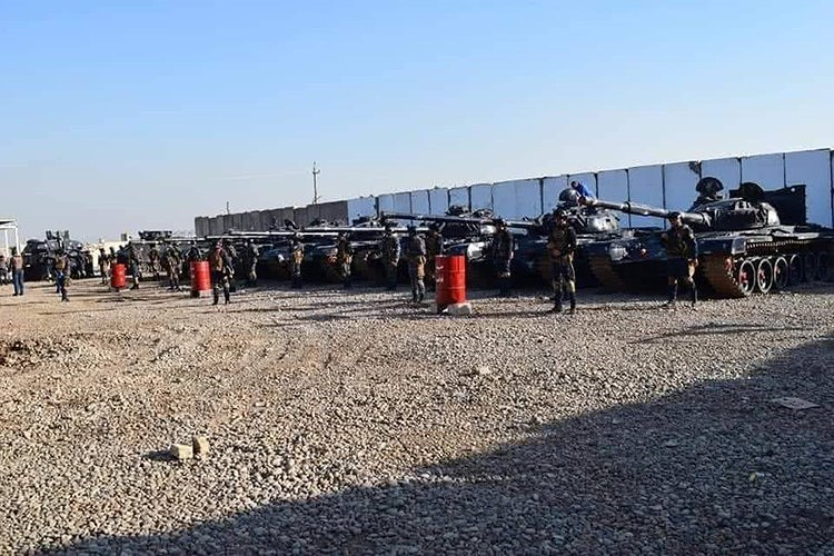 """Chính vì lẽ đó mà trang bị của Cảnh sát quốc gia Iraq có thể nói là """"độc nhất vô nhị"""" trên thế giới và vượt xa về sức mạnh so với cả những cường quốc hàng đầu hiện nay."""