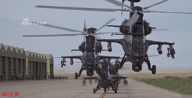 Bên dưới cấp lữ đoàn, họ chia nhỏ thành các biên đội hàng không trực thăng với số lượng 24 chiếc để đảm nhiệm chức năng vận tải, trinh sát, tấn công, cứu hộ cứu nạn và một vài nhiệm vụ đặc biệt khác.
