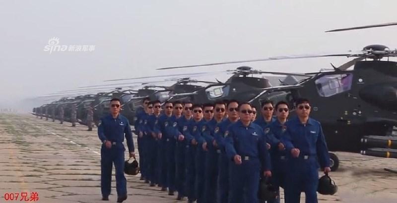 Hiện nay các lữ đoàn trên mới chỉ có trong biên chế khoảng 100 trực thăng, tức là còn thiếu so với tiêu chuẩn nhưng sẽ nhanh chóng được lấp đầy trong tương lai gần.