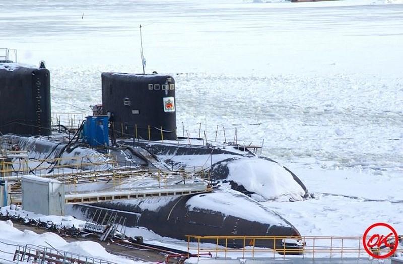 Sarov chính là biến thể sửa đổi từ tàu ngầm Kilo cho nên kích thước rất tương đồng với chiều dài 72,6 m; chiều rộng 9,9 m; mớn nước 7 m; lượng giãn nước 2.300 tấn khi nổi và 3.950 tấn khi lặn; thủy thủ đoàn 52 người.