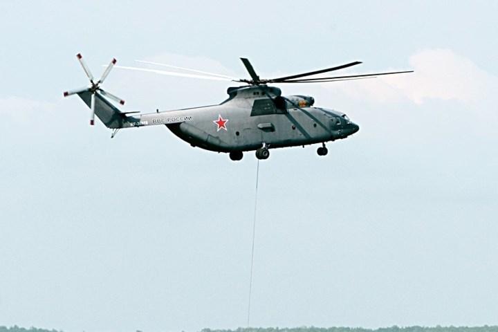 Trực thăng Mi-6 ban đầu được thiết kế để chở quân. Trực thăng tham gia cuộc chiến 6 ngày ở Trung Đông và cuộc xung đột Afghanistan vào thập niên 1980.