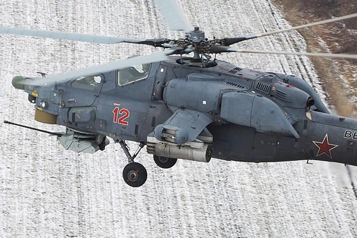Trực thăng săn đêm Mi-28N là loại trực thăng tấn công mới của Nga. Đây là phi cơ 2 chỗ ngồi, hoạt động được trong nhiều điều kiện thời tiết. Từng tham chiến ở Syria năm 2016.