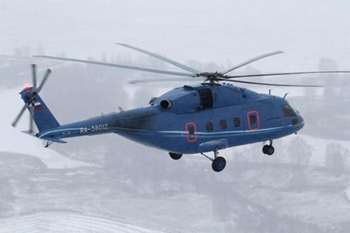 Mi-38 là trực thăng đa nhiệm tầm trung. Máy bay chưa được sản xuất hàng loạt. Mi-38 được thiết kế để hoạt độngtrên vùng biển trong nhiều điều kiện thời tiết, phục vụ nhiệm vụ vận tải, tìm kiếm cứu nạn...