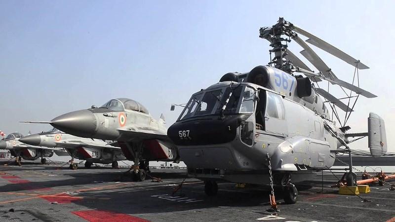 Trong các phi vụ tấn công tầm xa, tiêm kích MiG-29K còn nhận được sự hỗ trợ từ trực thăng cảnh báo sớm trên không (AEW) Ka-31, khiến năng lực của nó tăng vọt.
