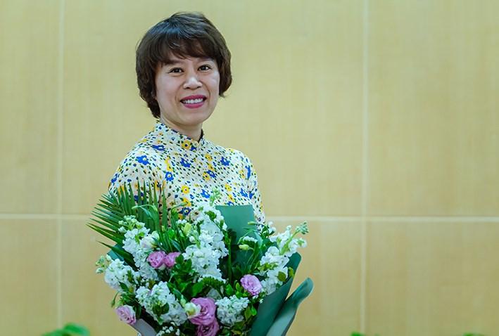 bà Tạ Thị Phương Lan  - Phó vụ trưởng Vụ quản lý thuế doanh nghiệp nhỏ, vừa và hộ kinh doanh, cá nhân